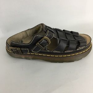 Dr. Martens Leather 8092 GRIZZLY Sandals 12 M
